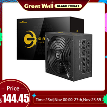 Power-Supply Great-Wall PC ATX Computer-80plus Gold 750W Unit Active for 14cm Fan E-Sport