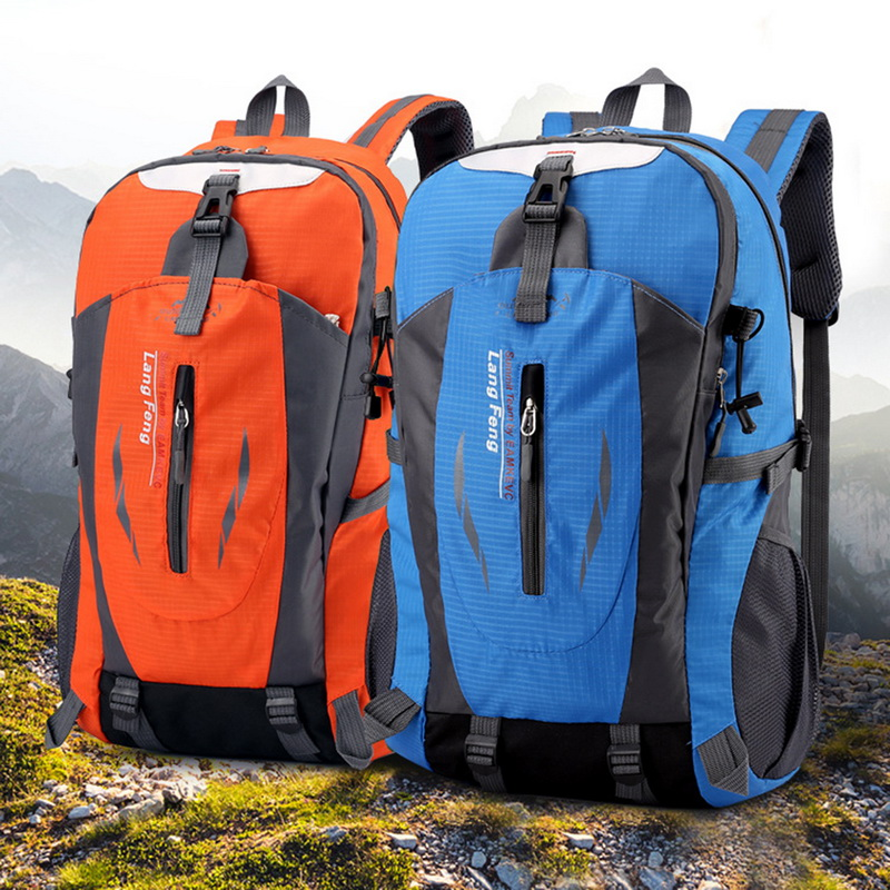 40L Outdoor Sports Bag Trekking Driving Rucksuck Large Capacity Hiking Backpacks Men Waterproof Women Camping Bags Men Backpack