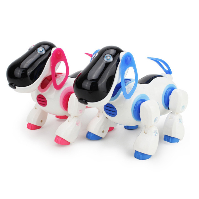 AMWELL Xinxin Family Intelligent Robot Dog 2089 Remote Control Robot Dog CHILDREN'S Electric Toys Educational Toy 3-6