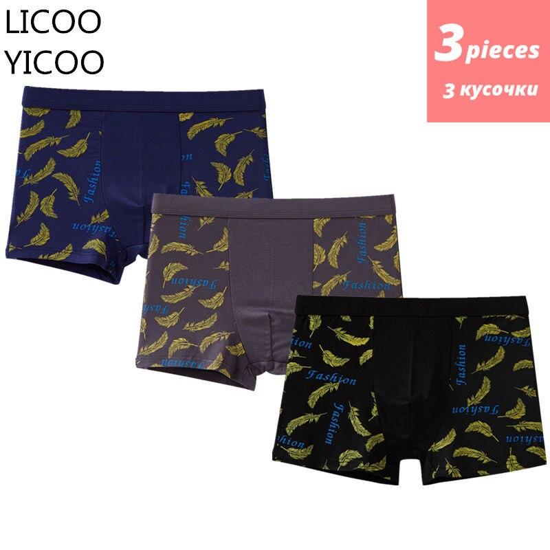 3pcs/lot Boxer Homme Mens Underware Panties Mens Underwear Boxers Man Cueca Calzoncillos Hombre Sexy Shorts