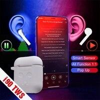 i90 TWS Smart Sensor Pop up 1:1 Replica Wireless Earphone Bluetooth 5.0 Earphones TWS i90 PK i80 i10 i20 i30 i60 TWS PK W1 Chip