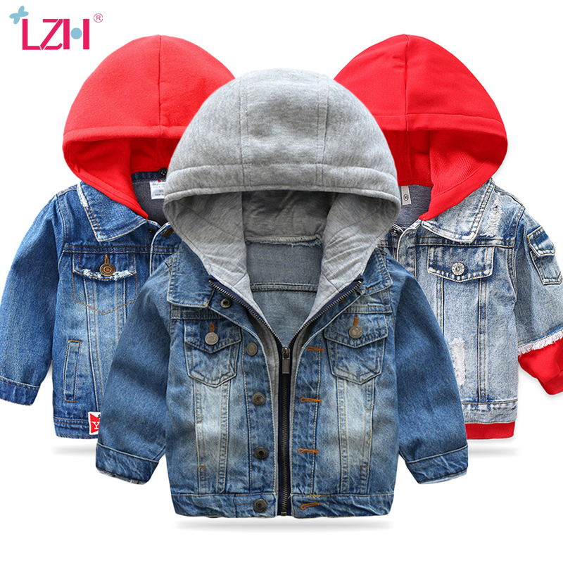 Kids Baby Boys Denim Jacket 2020 Autumn Spring Children Jackets For Boys Outerwear Coats For Girls Jeans Jacket 2 3 4 5 6 7 Year 1