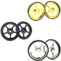 2pcs Lightweight Aluminum Alloy Folding Bicycle Easy Wheel Bicycle Modification Repair Accessories for Brompton Folding Bike|Bicycle Repair Tools| |  -