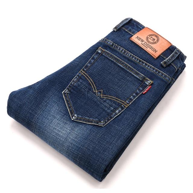 2020 New Design Jeans Mens Pants Cotton Deniem Classic Trousers Casual Stretch Slim High Quality Black Blue Multiple Styles 5