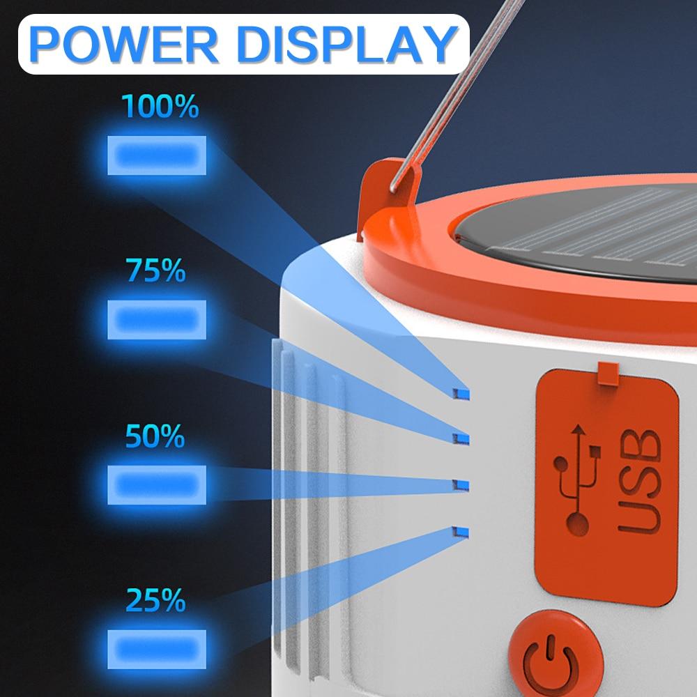 Sn /_ Durable Mini USB LED Ampoule Extérieur Camping Randonnée Énergie Saving