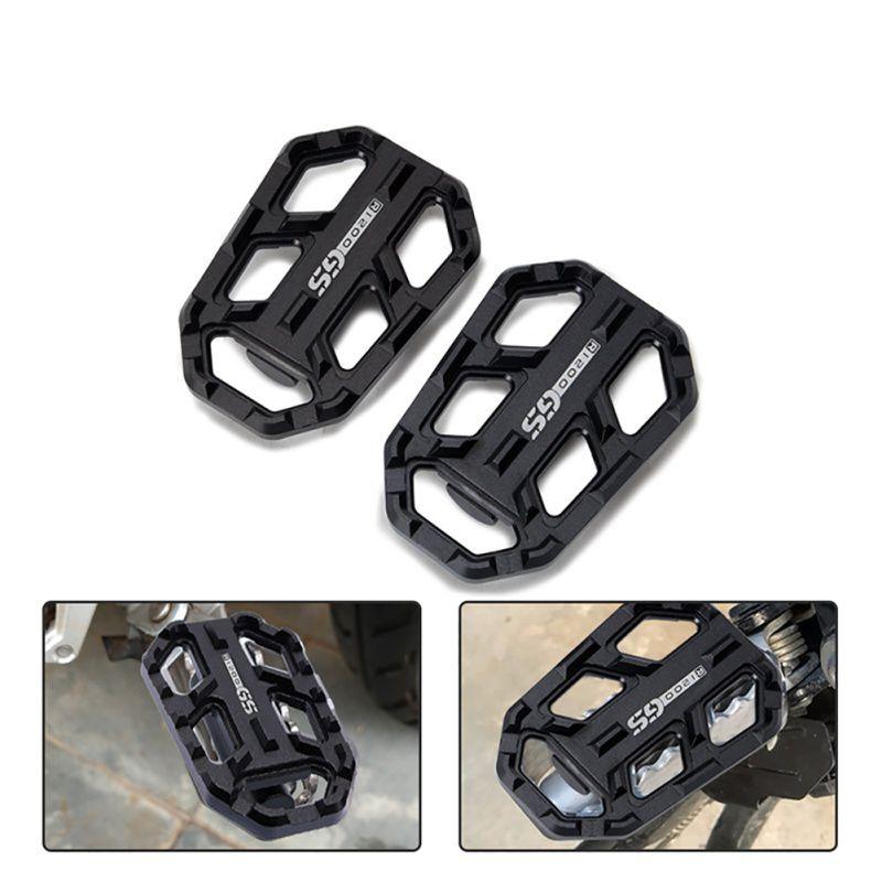 Motorcycle Foot Blanks Wide Footpegs Footrest Footpegs For BMW R1200GS G310 2013-2018