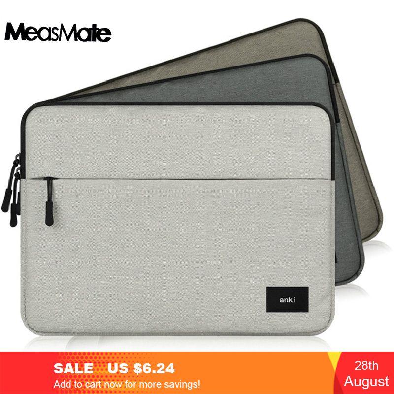 For Apple Macbook Pro 13 15  A1706 A1707 A1708 with touch bar Laptop Sleeve bag Case Zipper Liner Sleeve Bag for Macbook Air-in Laptop Bags & Cases from Computer & Office
