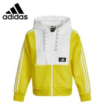Original New Arrival Adidas STR JKT KNIT Women's jacket Hooded Sportswear 1