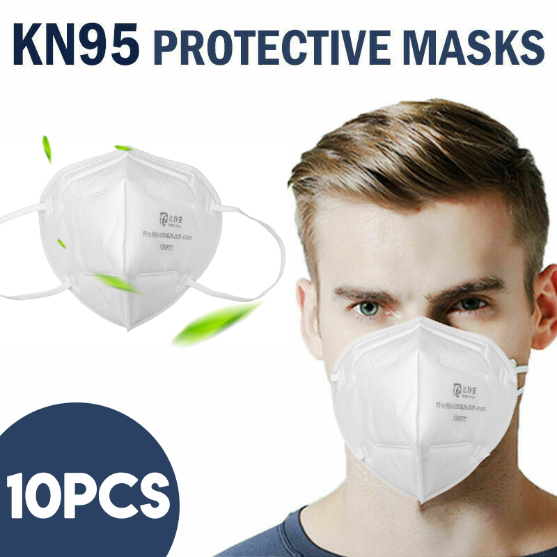 10Pcs KN95 3D Face Mask Anti-Dust Mouth Masks Korea Prevent Comfortable Safety Support Disposable Filter Pad