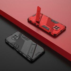 Image 4 - Schokbestendig Case Hybrid Armor Bumper Cool Punk Houder Voor Xiaomi Redmi 9 T Case Redmi Note 9 T 5G premium Cover Redmi 9 T T9