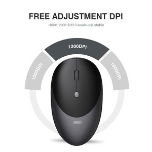 Image 3 - Wireless Mouse Computer Mouse Silent Mause Rechargeable Ergonomic Mouse 2.4Ghz USB Optical Mice For Macbook Laptop PC 3 Colors