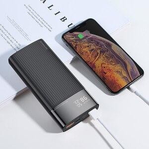 Image 5 - KUULAA Power Bank 20000 mAh QC PD 3.0 PoverBank szybkie ładowanie PowerBank 20000 mAh USB zewnętrzna ładowarka do Xiaomi Mi 10 9