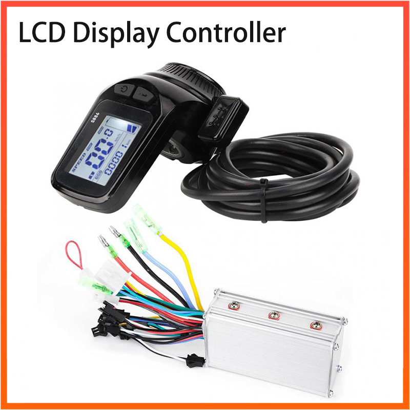 24/36/48V 350W Electric Bicycle Brushless Controller Waterproof Scooter Motor Controller With LCD Display Electric Bicycle Part
