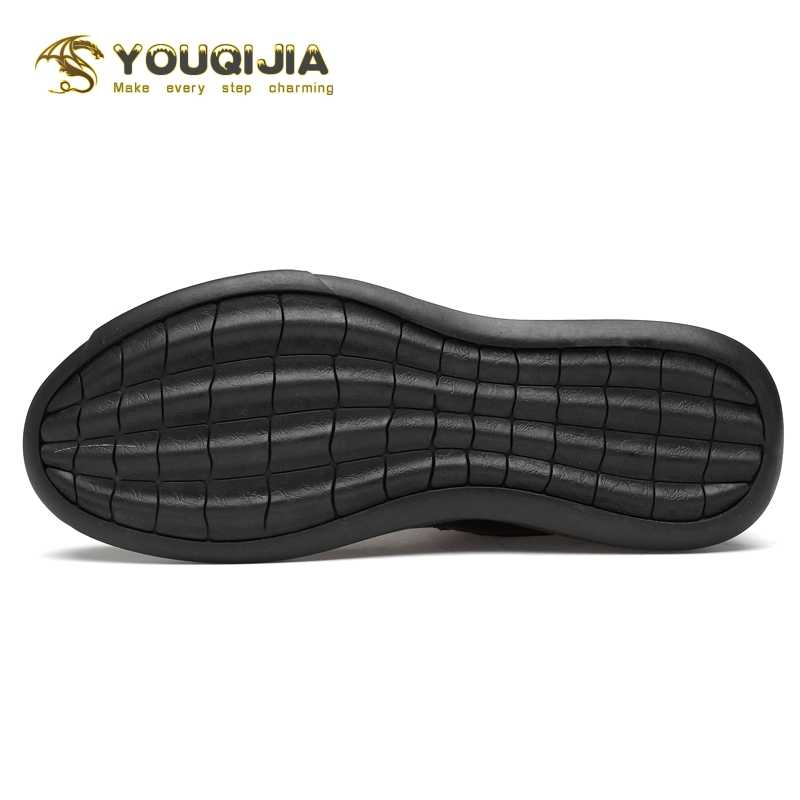 Rahat çorap ayakkabı erkekler yüksek çizmeler rahat yumuşak hakiki deri kış aylarında sıcak tutmak klasik moda açık esneklik elastik kumaş