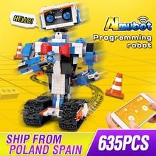 Mold King Idea inteligentne programowanie robot Boost zabawki Model zestaw do budowania samozamykające klocki bloki zabawki dla dzieci prezenty urodzinowe