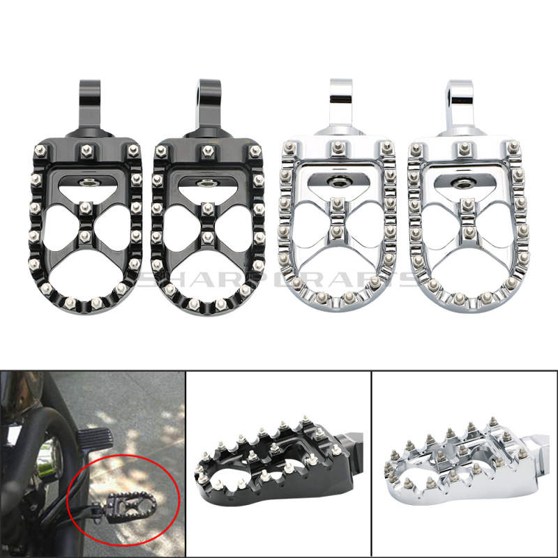 Male Mount Footpegs Footrests For Harley Sportster XL883 XL1200 FORTY EIGHT SEVENTYTWO STREET XG 500 750 XG750A