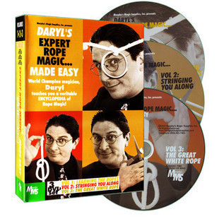 Expert Rope Magic Made Easy By Daryl  Vol.1-3- Magic Tricks