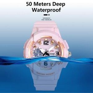 Image 3 - Shifenmei דיגיטלי שעון נשים ספורט נשים שעונים למעלה מותג גבירותיי צמיד שעוני יד קוורץ שעון נשי Relogio Feminino
