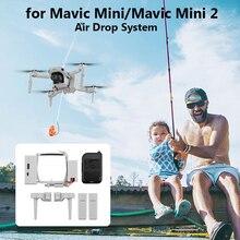 Dla DJI Mavic Mini 2/Mini 1/SE Drone Airdrop System upuszczania powietrza miotacz przynęta na ryby obrączka prezent rzut dostarczyć ratunek