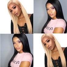 360 czołowa koronki peruka 613 koronki przodu włosów ludzkich peruk miód blond, naturalne, czarne, proste kolorowe przezroczyste koronkowa peruka Dolago