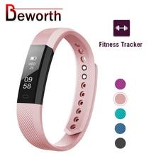 Fitness Tracker Smart Bracelet ID115 Veryfit APP Bluetooth Band Activity Monitor sveglia braccialetto sportivo per iOS Android