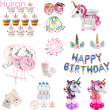 Pin The Horn On The Unicorn Party Game Kids Birthday Party U
