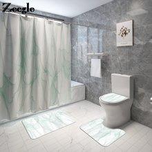 Набор ковриков для ванной и душа в скандинавском стиле впитывающие