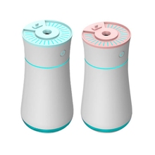 Aroma-Diffuser Air-Humidifier 300ml USB with Fan And LED Night-Lights Rechargeable 3-In-1