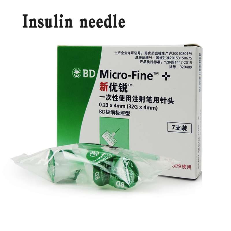 0.23x4mm Insulin Injection Pen Needle BD Disposable Sterile Needle