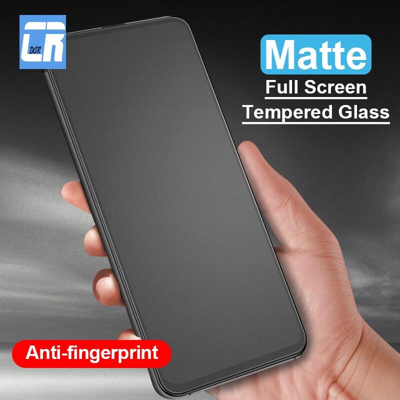 Anti-Fingerprint Frosted Tempered Glass For Huawei Nova 5 5i 5 Pro 4 4E 3 3i Screen Protector For Honor 8X 8A 20i 10 Lite Glass
