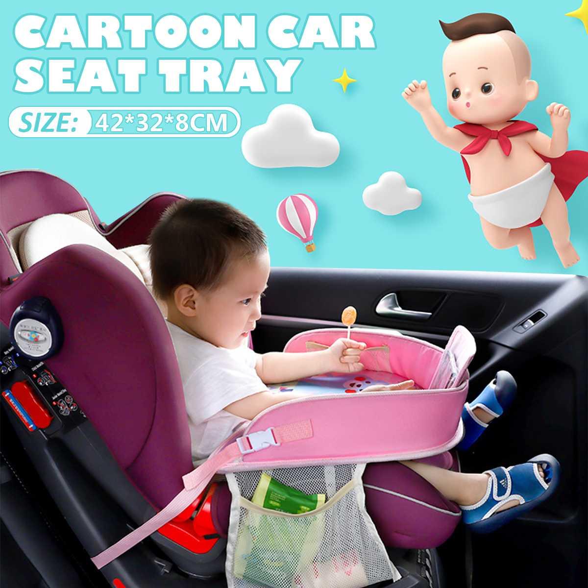 Водонепроницаемый домашний стол подлокотник для сидения автомобиля дети в автомобиле держатели для напитков хранения детей игрушки младенческой детей обеденный стол для напитков забор для детей