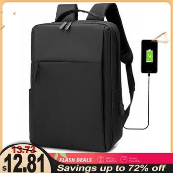 15.6 Inch Laptop Men Backpack Larger Capacity Travel Male Laptop Backpack Usb Charging Computer Backpacks Waterproof Bag for Men