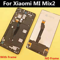 "5.99"" For Xiaomi MI Mix 2 mix2 LCD Display+Touch Screen+ frame Digitizer Assembly for phone RAM 6GB mix2 LCD Display with frame"