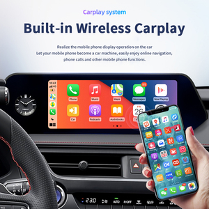 Image 4 - 4 + 64 Android 10 NX 300H รถมัลติมีเดีย Player วิทยุสำหรับ Lexus NX200 2018 NX300H NX200T GPS นำทาง autoradio 2 Din Head Unit