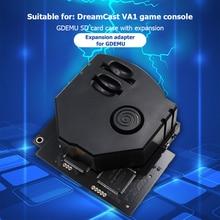 GDEMU بطاقة أمان رقمية ، جهاز تحكم عن بعد ، طقم تركيب مطبوع ثلاثي الأبعاد ، لوحة محاكاة محرك الأقراص لوحدة تحكم DreamCast VA1