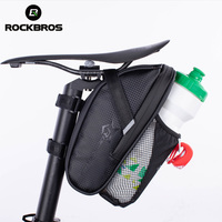 ROCKBROS MTB Bicicleta Traseiro Saco de Nylon Impermeável Saco Ao Ar Livre Ciclismo Mountain Bike Saddle Frente Bicicleta Back Seat Cauda Bolsa Pacote