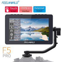 FEELWORLD F5 Pro 4K Monitor 5.5 Inch on DSLR Camera Field Monitor IPS FHD1920x1080 4K