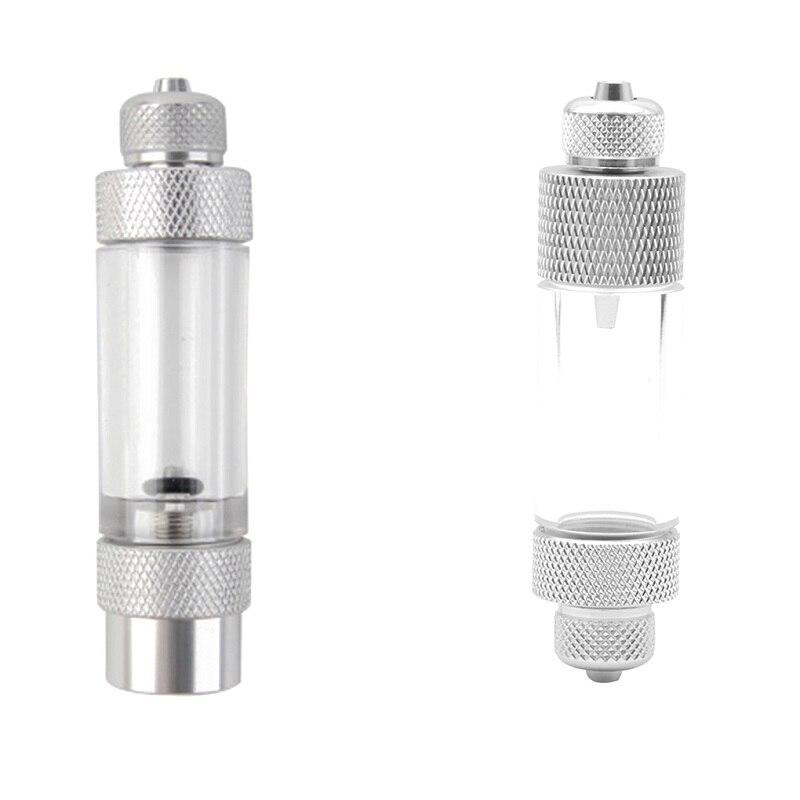Dispositif de mesure de dioxyde de carbone de régulateur de CO2 de Non-retour d'alliage d'aluminium de compteur de bulle de CO2 d'aquarium simple/Double tête