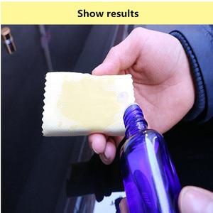 Image 5 - 20Pcs/Set Microfiber Cleaning Cloths 10x10cm Nano Ceramic Car Coating Kits Car Glass Coating Lint Free Cloth