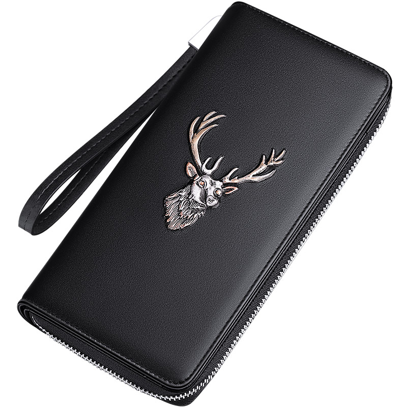 williampolo-luxury-brand-leather-wallets-men-zipper-coin-purses-deer-totem-clutch-wallets-female-money-bag-credit-card-holder