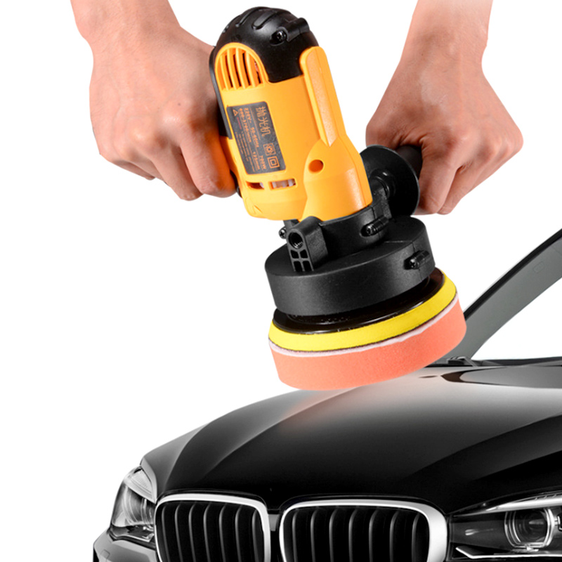 220V 3000rpm Electric Car Polisher Machine 600W Auto Polishing Machine Adjustable Speed Sanding Waxing Tools Car Accessories
