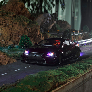 Killerbody 1:10 RC wide full body kit fit for lexus RCF body(China)