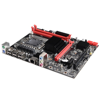 X58 Gaming Stable PCI Express Desktop Computer LGA 1366 Office Dual Channel Motherboard Solid State 32G DDR3 USB2.0 Memory