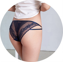 Cotton Panties Women Solid Underwear Sexy Lace underwear Transparent Low-Rise Briefs Intimates New Hot Sale