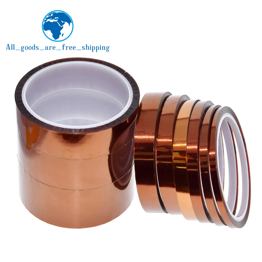 33meter x 5 40mm High Temperature Polyimide Tape Heat Resistant Insulation Polyimide Film Adhesive Tape 10mm|Insulation Materials & Elements|   - AliExpress