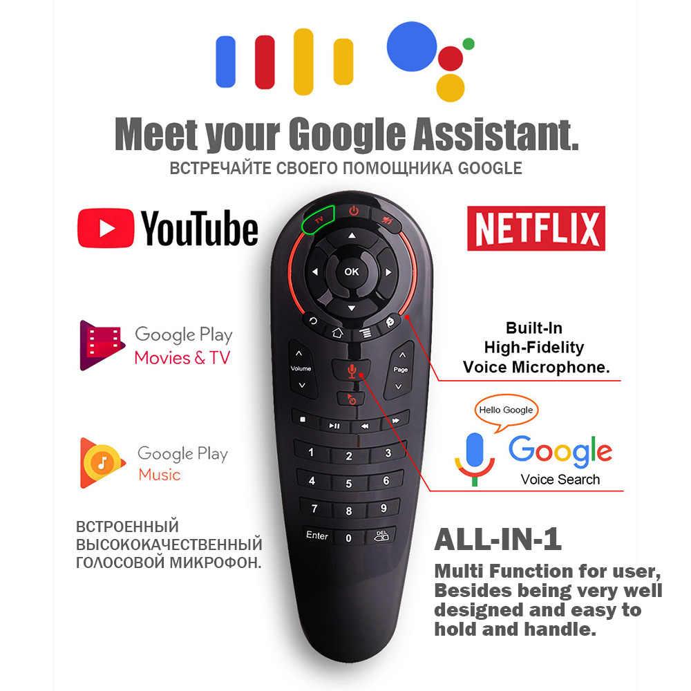 Mecool G30 S 33 tasti IR apprendimento a distanza di controllo 2.4g mouse dell'aria senza fili voice air mouse Gyro Sensing Smart A distanza di Gioco tv box