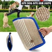 Дрессировочная подушка для укуса, подушка для укуса, джутовый рукав для укуса собаки, для дрессировки, малинуа, немецкая овчарка, Ротвейлер