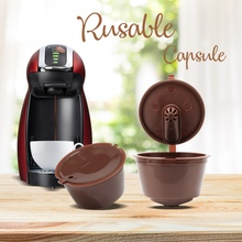 3 Pieces Upgraded Version Refillable Coffee Capsule Reusable Coffee Filter Pods With Scoop And Brush Aroma Of The Coffee