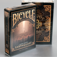 Bicycle Natural Disasters Earthquake Playing Cards Collectable Poker USPCC Limited Edition Deck Magic Tricks Props