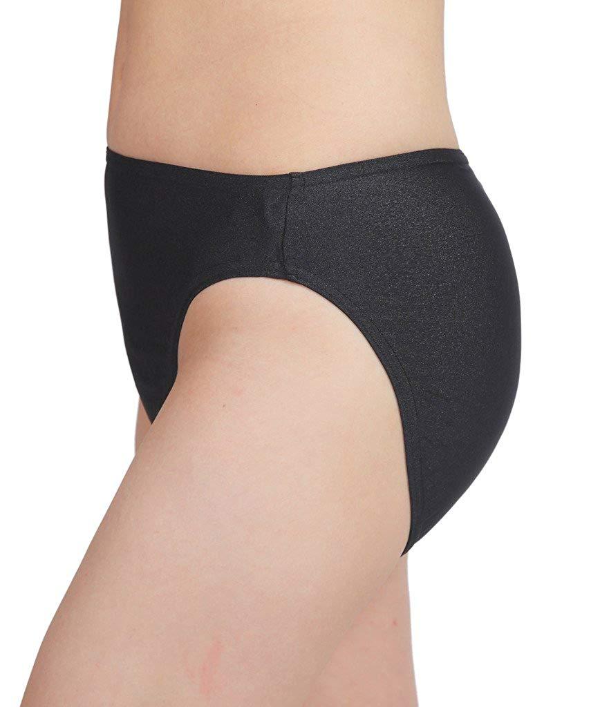 Adult Spandex Nylon High Leg Cut Dance Panty shorts Hug your body like a second skin 5